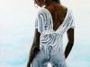 496# Schwarze Frau im Wasser  30x40.jpg