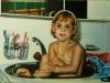 159-Meine Tochter-bei-der-Abendtoilette-(Ueli-Herren)