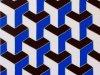 267-Würfel-in-blau-weiss-eisenoxidrot-fluoreszierend-50x100