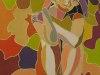 481# Neugierig (Fluoreszierend) 40x50-(Ueli-Herren)