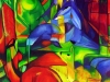 Stimmung im Wald von Angelica Ottensarend 50x60
