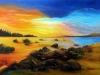Ruhe und Stille-50x40cm- von Kathrin Zedi