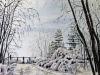528# Winterlandschaft 70x50