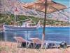 155# Samos-zwei-Sonnenliegen- Ueli Herren