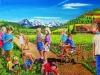220#Spielende-Kinder-im-Mohnfeld- Ueli Herren