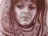 550 # Sybilla (Beduinen prinzessin (Eva Green) 50x70