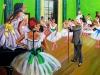 166. Die Ballettstunde ( Degas ) 75x85.jpg