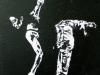 280.Ballerina-auf-einem-Bein-in-schwarz-41x58