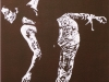 281.Ballerina-auf-einem-Bein-in-bordeauxrot-41x58