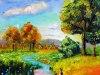 207 a# Bild Herdin Übung 5 Bäume,Himmel und Tiefe#001
