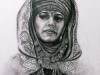 535#Die Beduinenprinzessin (Eva Green) Sylilla in ein Königreich im Himmel 42 x61