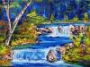 Lisa`s Wasserfälle 24.12.14 40x30